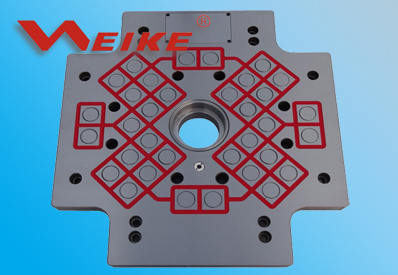 Magnetic Mold Clamping System