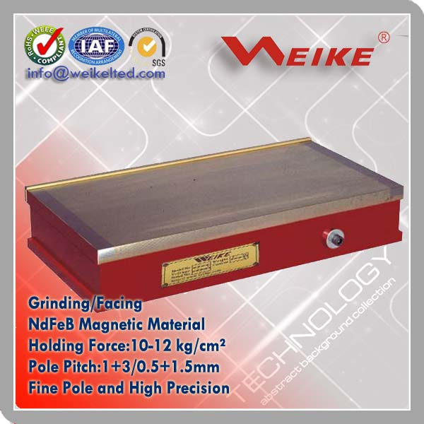 Surface Grinder Permanent Magnetic Workholding Plate