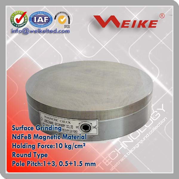 Round Magnetic Grinding Chuck